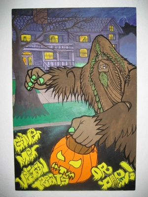 Ghastly Horror!  A Halloween & Monster Art Exhibit