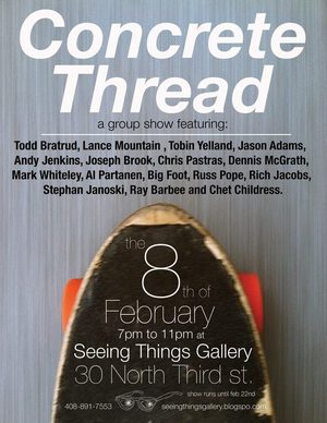 Concrete Thread group show