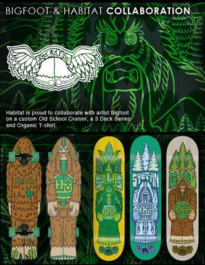 The Bigfoot Habitat collection out now!