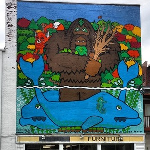 Bigfoot Mural photo